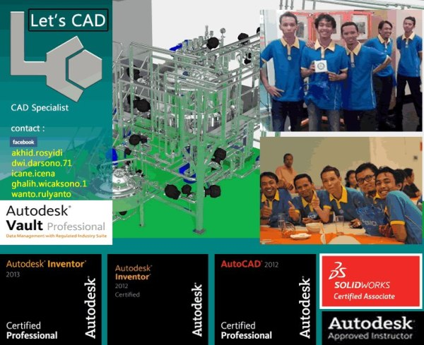 Let's CAD Team