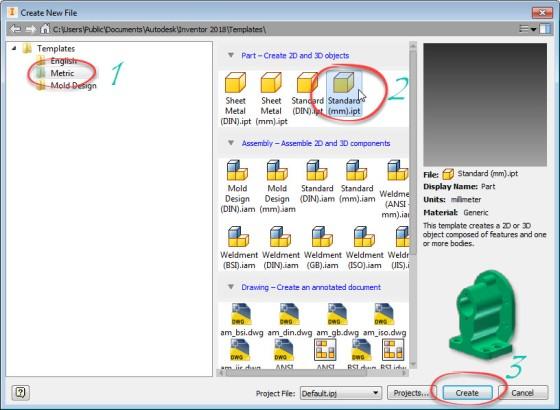2. Create New File